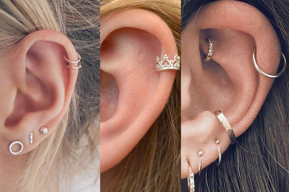 piercings de orelha