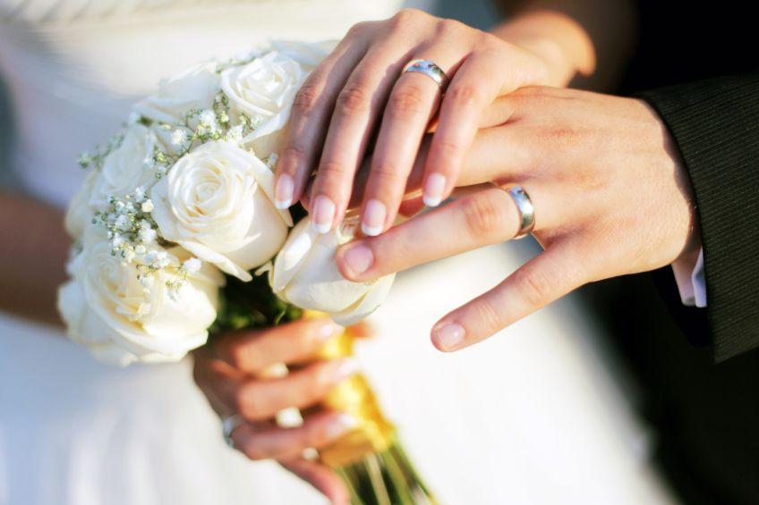 Alianças de noiva