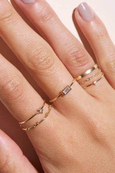 Combinar anéis delicado