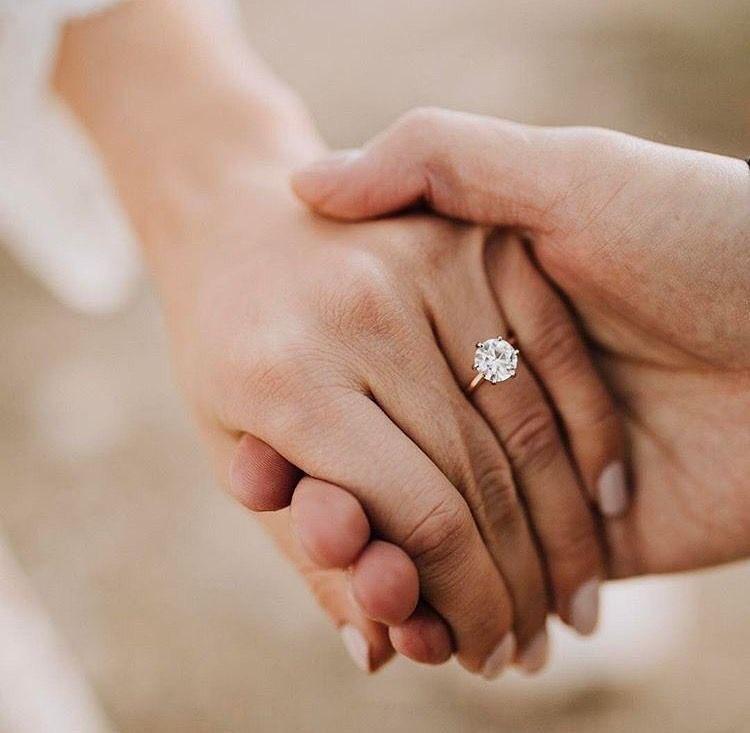Anel de noivado - em qual dedo usar    Waufen 3a243aa22b
