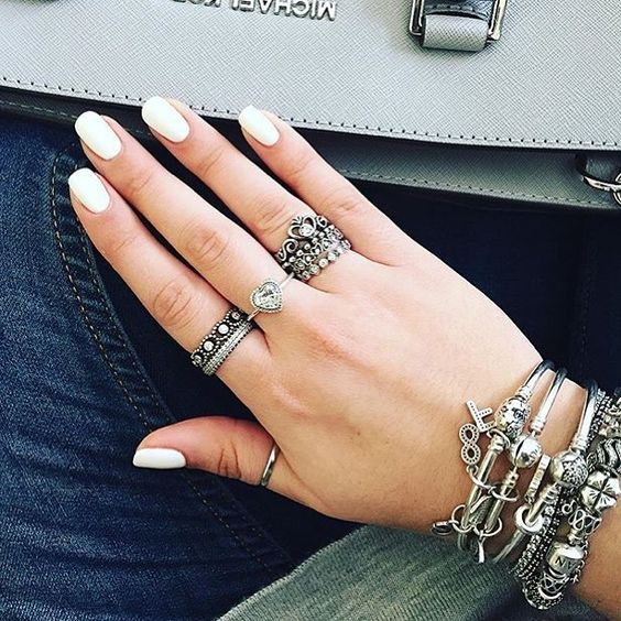 Boho Chic Combinar Anéis