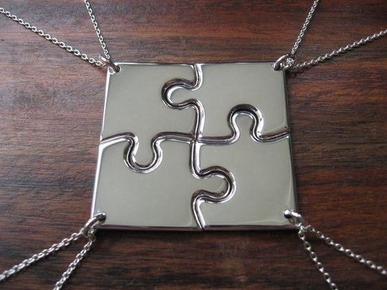 Colar da amizade Puzzle