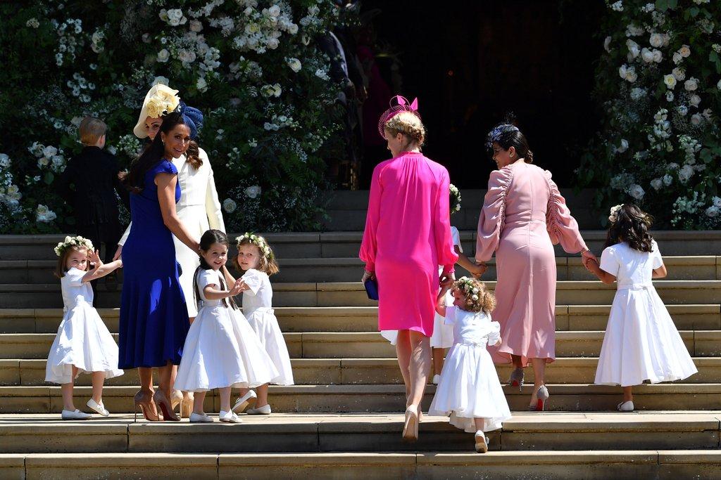 Crianças no Casamento Real