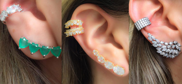 Ear Cuff Piercings Fake