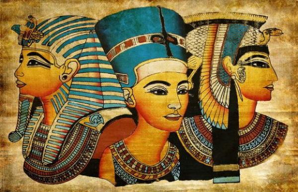 Egípcios orelha furada