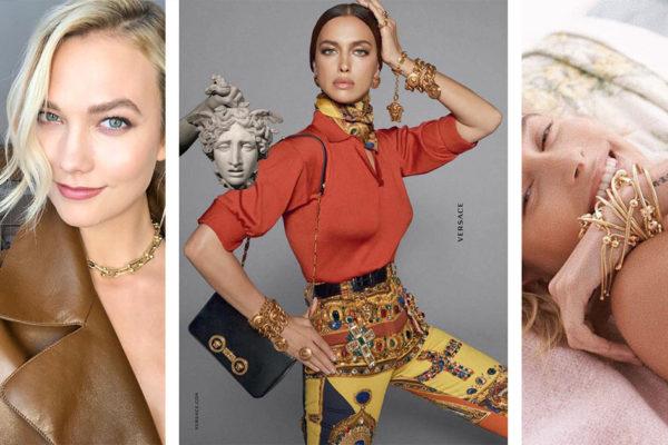 Modelos com Joias de Ouro