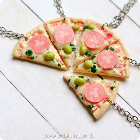 Pizza colar BFF