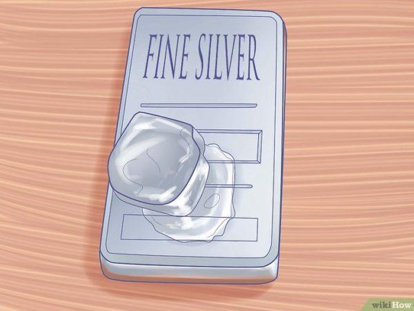 Testar prata com gelo