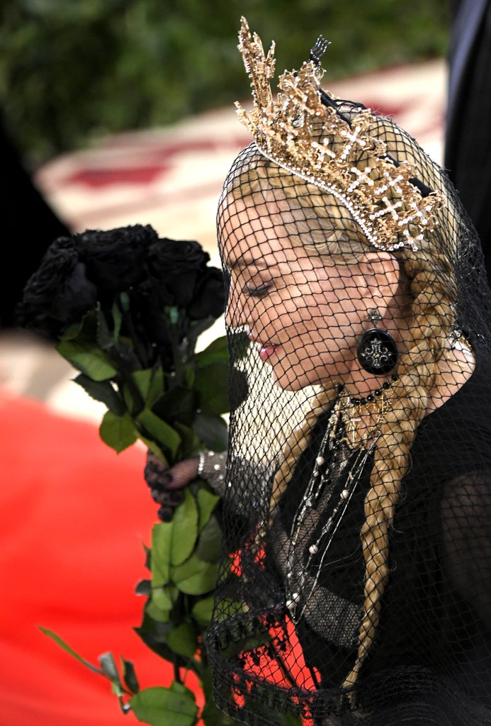 Madonna Jean Paul Gautier Met Gala Dress 2018