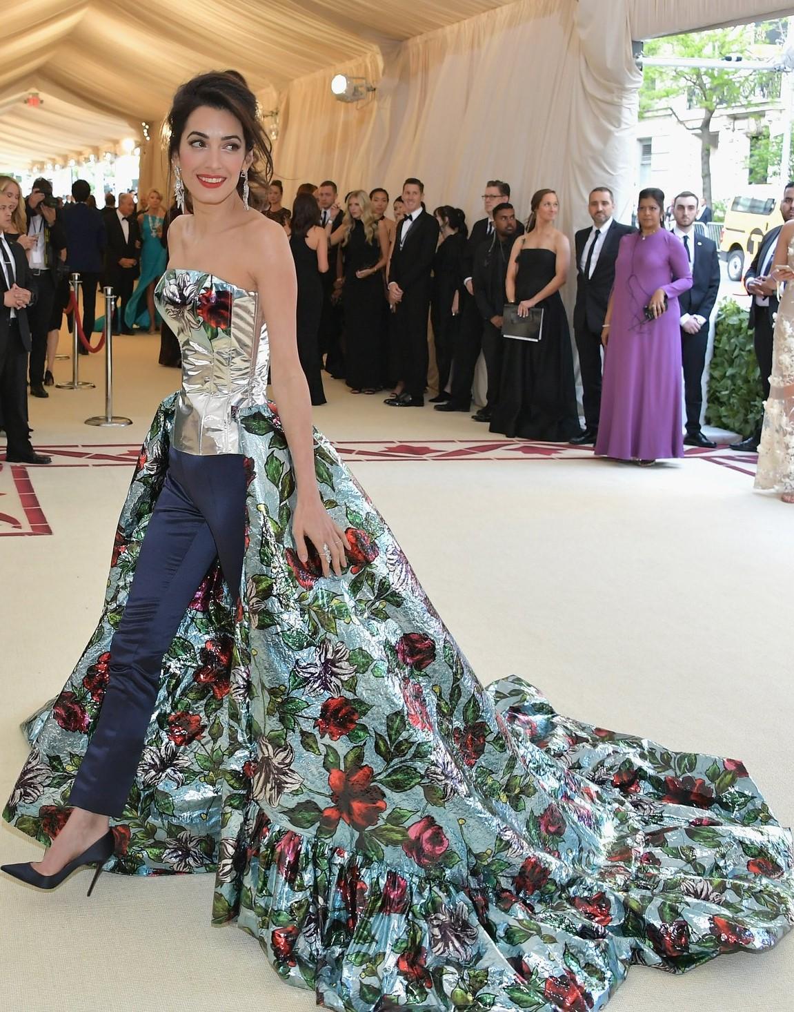 Amal Clooney Vestido