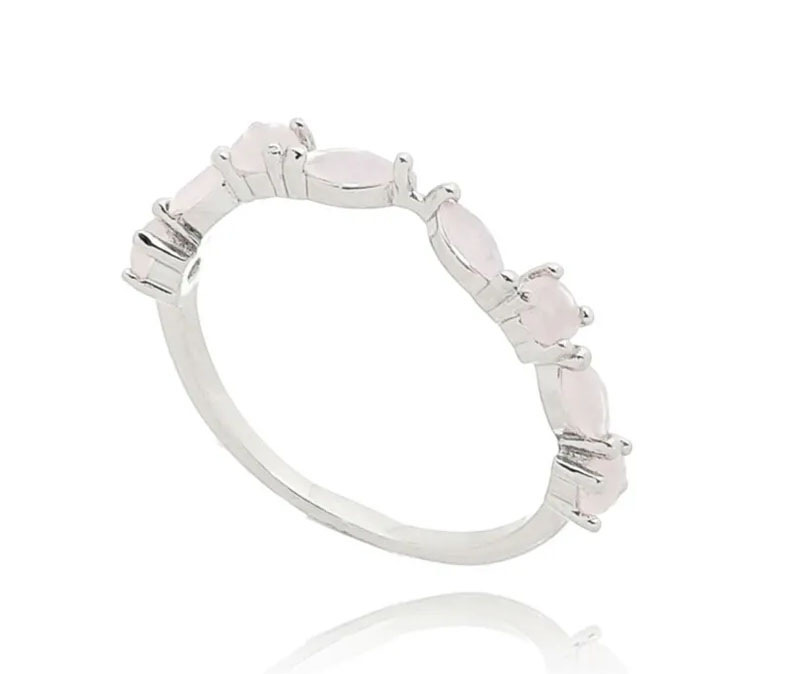 bodas de namoro anel delicado