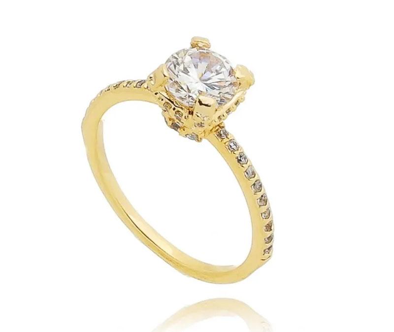 bodas de namoro anel ouro