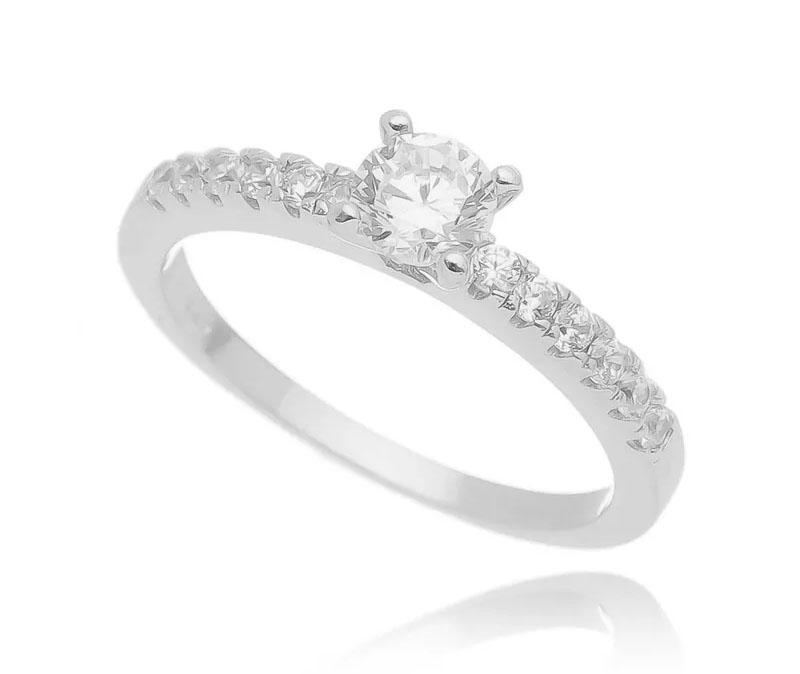 bodas de namoro anel solitario