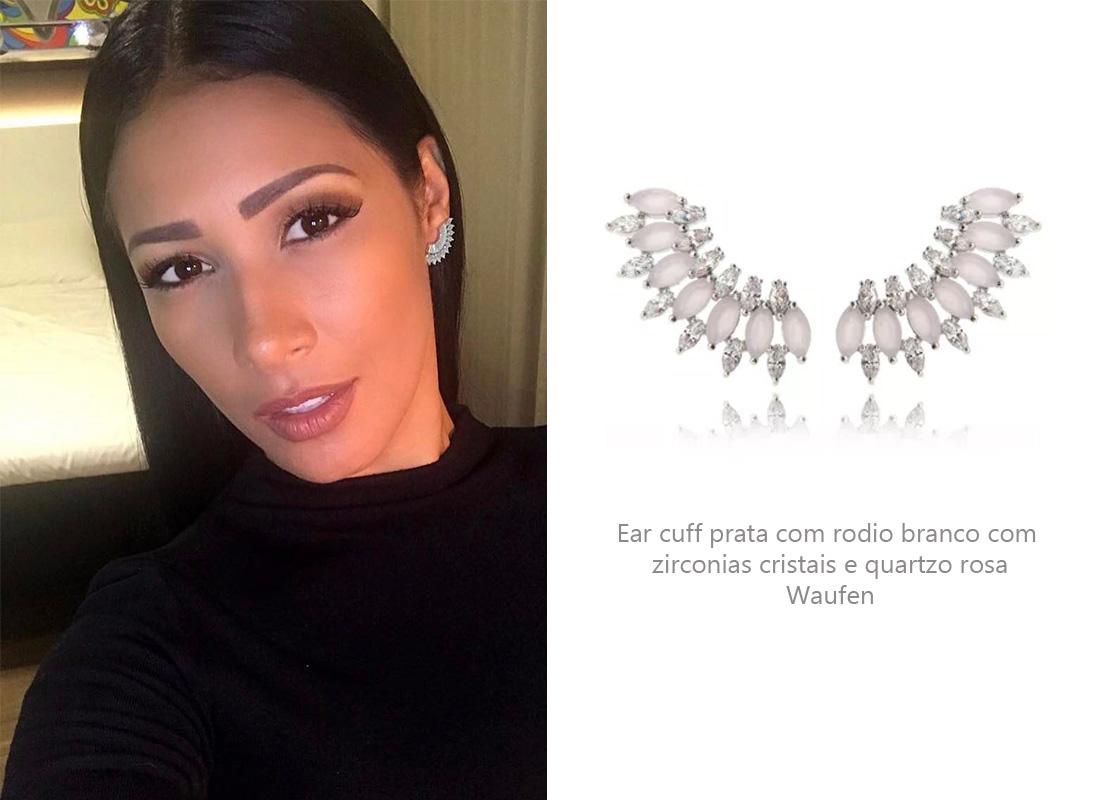 Brincos Simaria Ear Cuff
