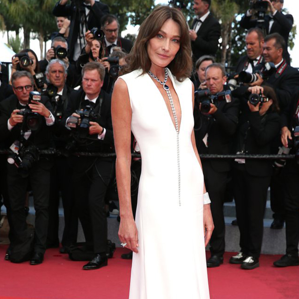 Carla Bruni Joias Cannes