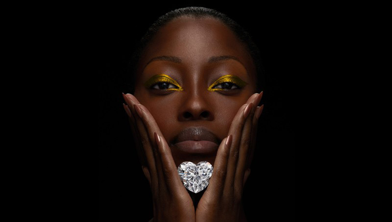 Diamante Cullinan Coração