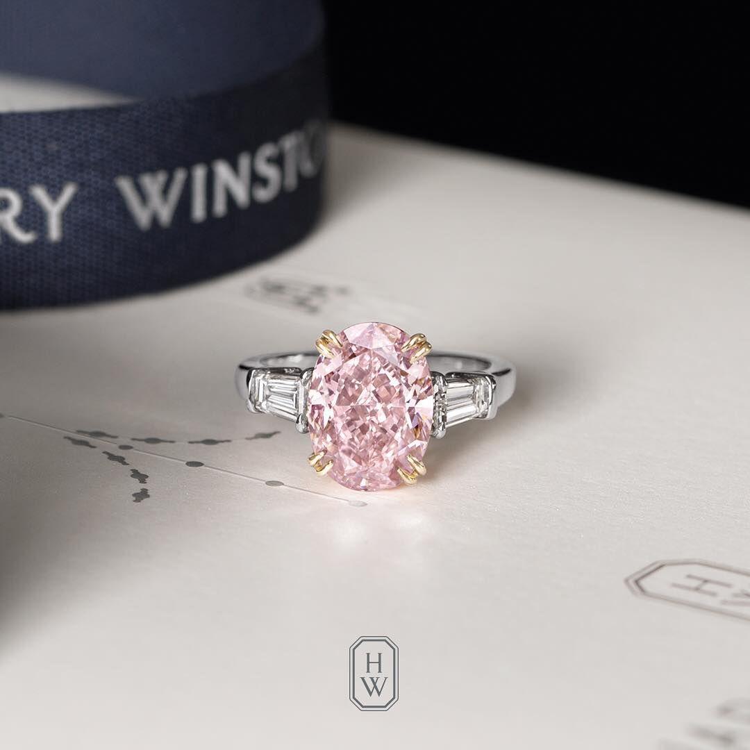 Diamante Rosa Harry Winston