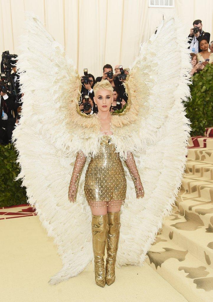 Katy Perry Anjo Met Gala