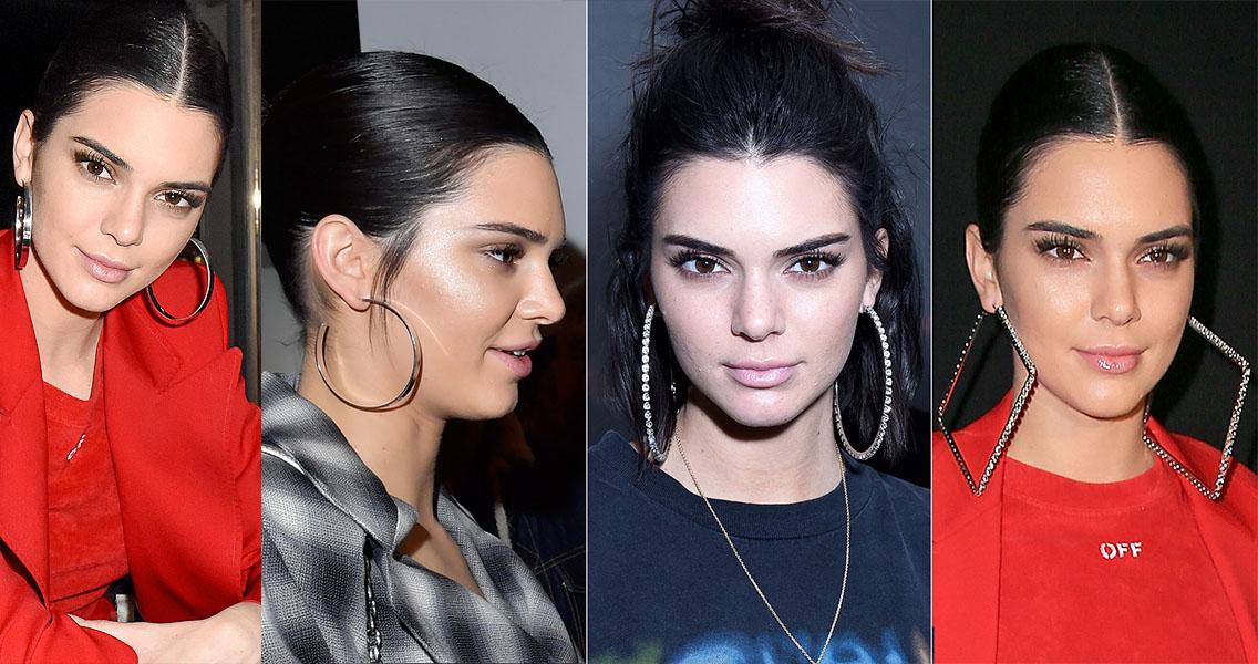 Kendall Jenner brincos