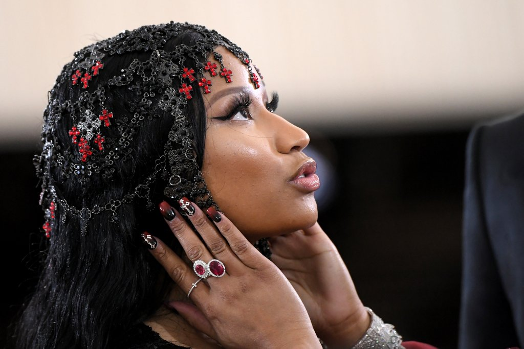 Nicki Minaj Met Gala aneis