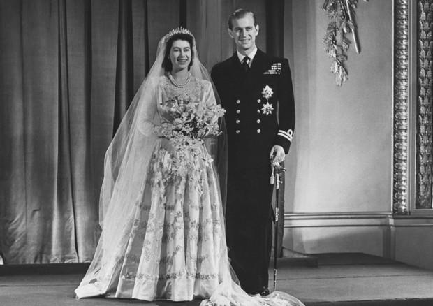 Rainha Elizabeth e Principe Philip