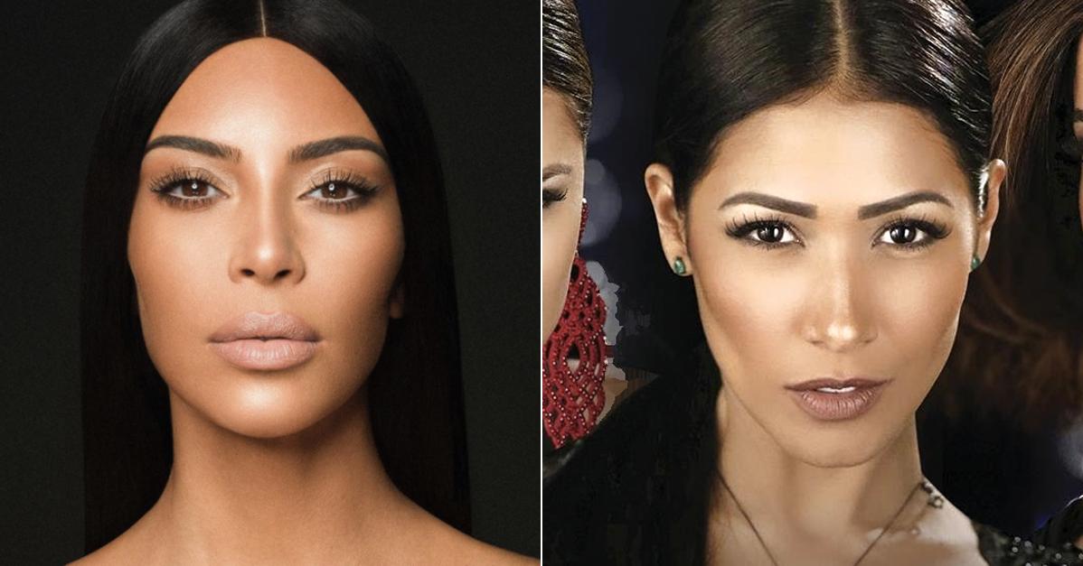Simaria Kim Kardashian Brasileira