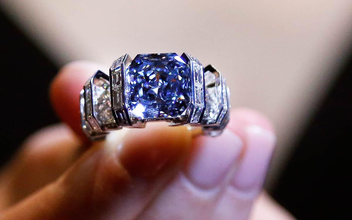 Sky Blue Diamante