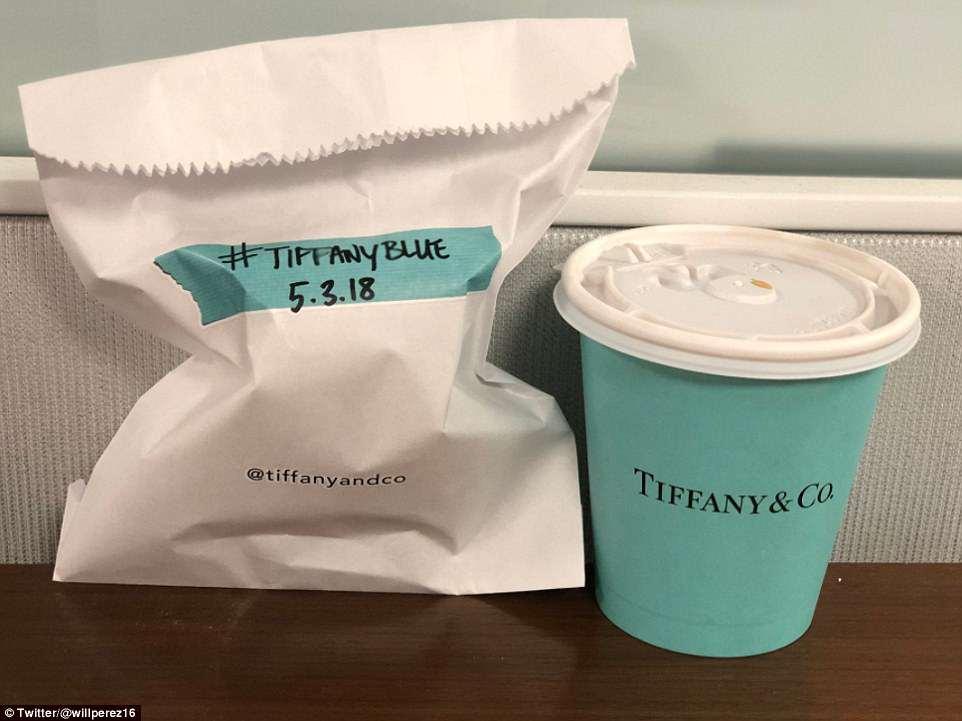 Tiffany Cafe e Croissant