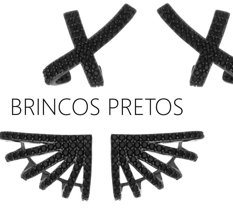 Brincos Pretos
