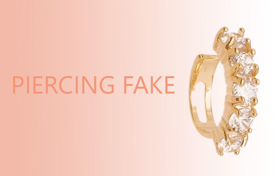 Piercing fake
