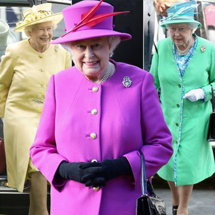 Rainha Elizabeth estilo