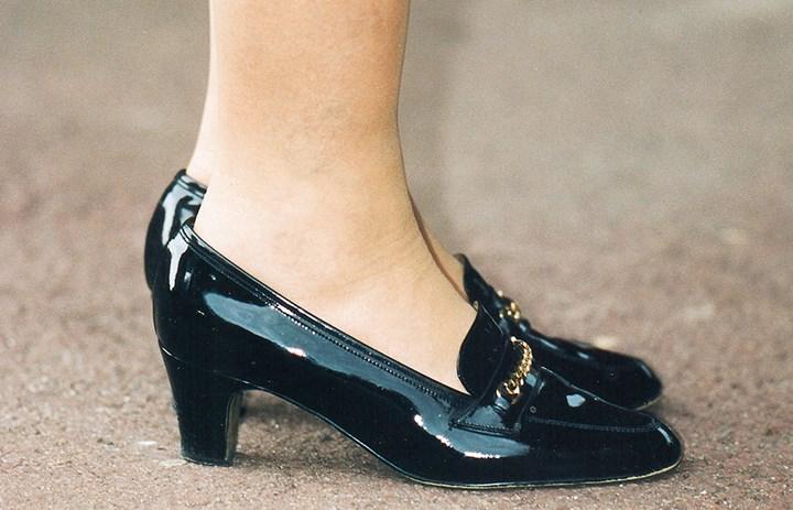 Sapatos Rainha Elizabeth