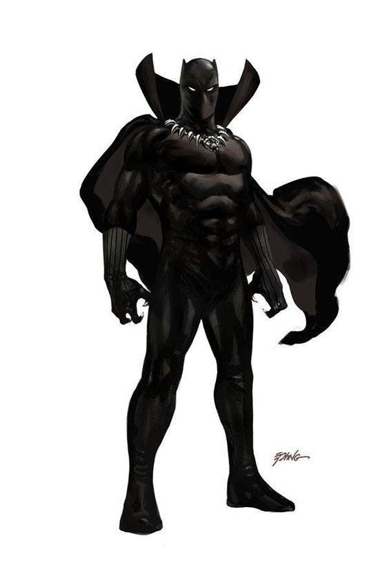 Traje do Pantera Negra