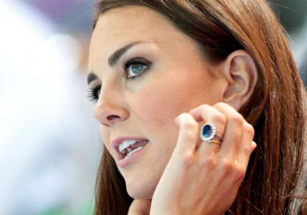 Kate Middleton Anel Noivado