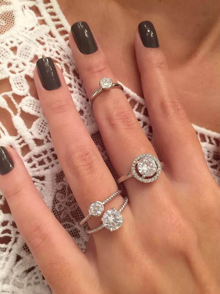 Anéis de zircônia falange