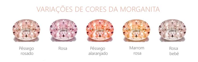 Cores Morganita