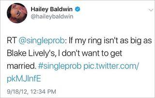 Hailey Baldwin Twitter