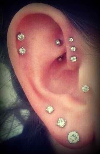 Piercings Multiplos