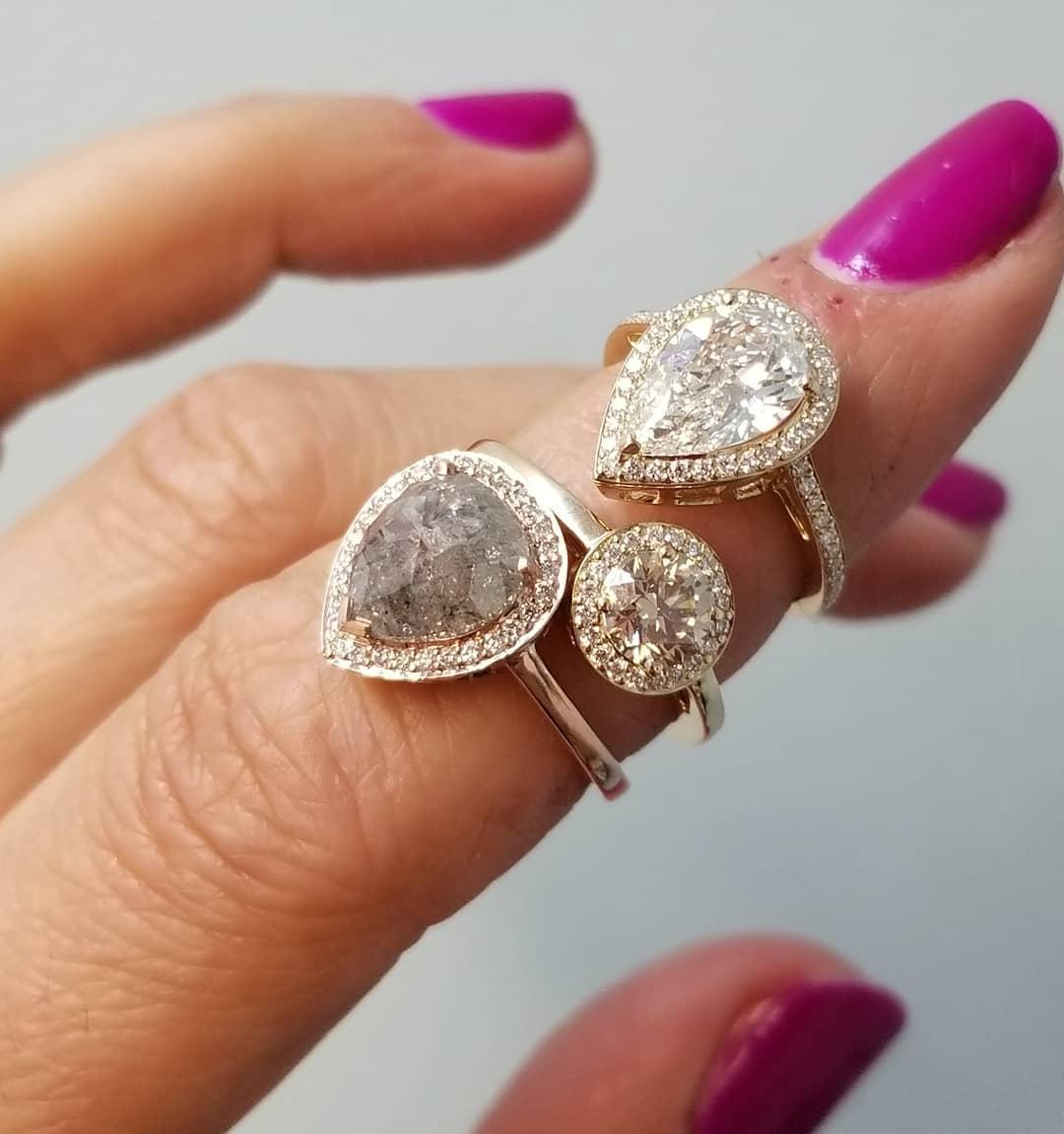 Tendencia anel de noivado