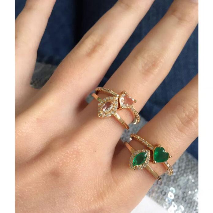 Tipos de anéis de ouro