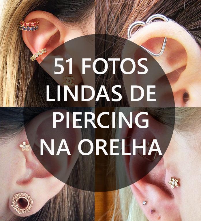 Tipos de Piercing na orelha
