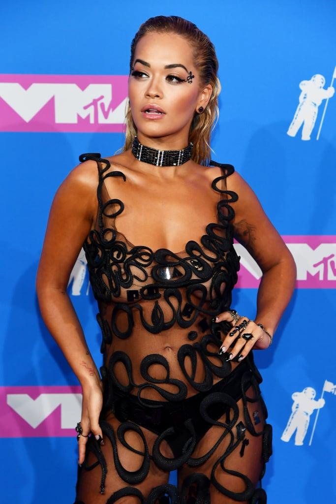 Joias do VMA Rita Ora