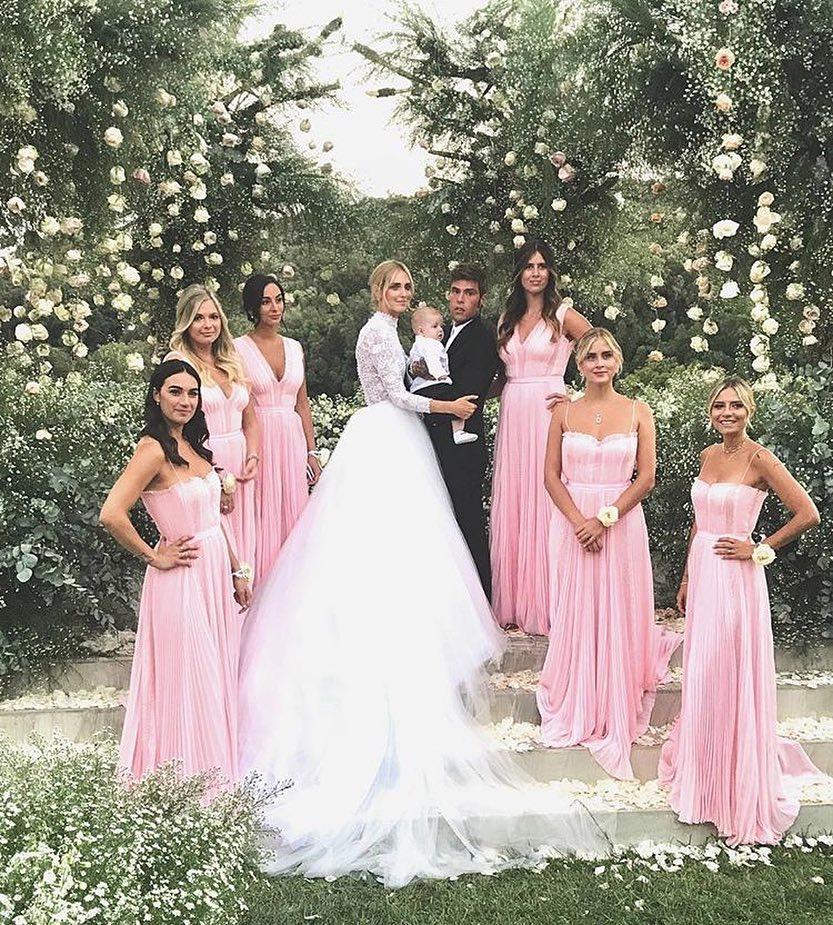 Casamento Chiara Ferragni Madrinha