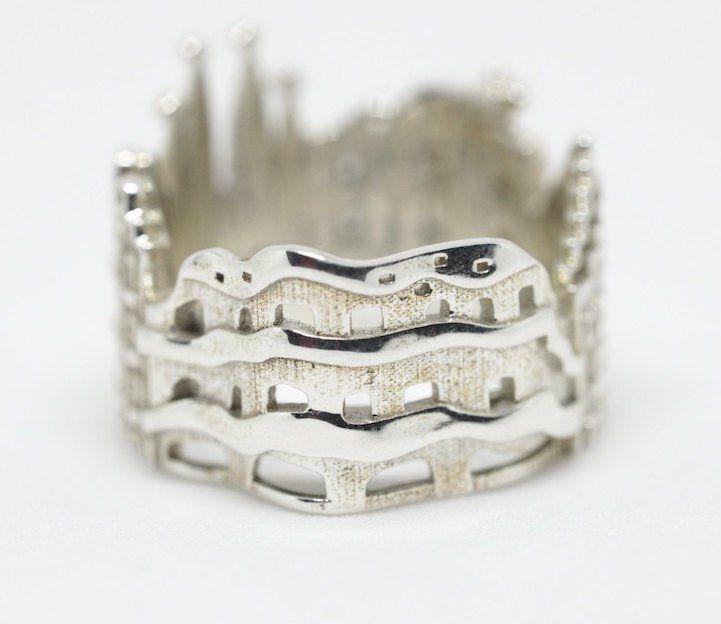 Joias criativas anel barcelona