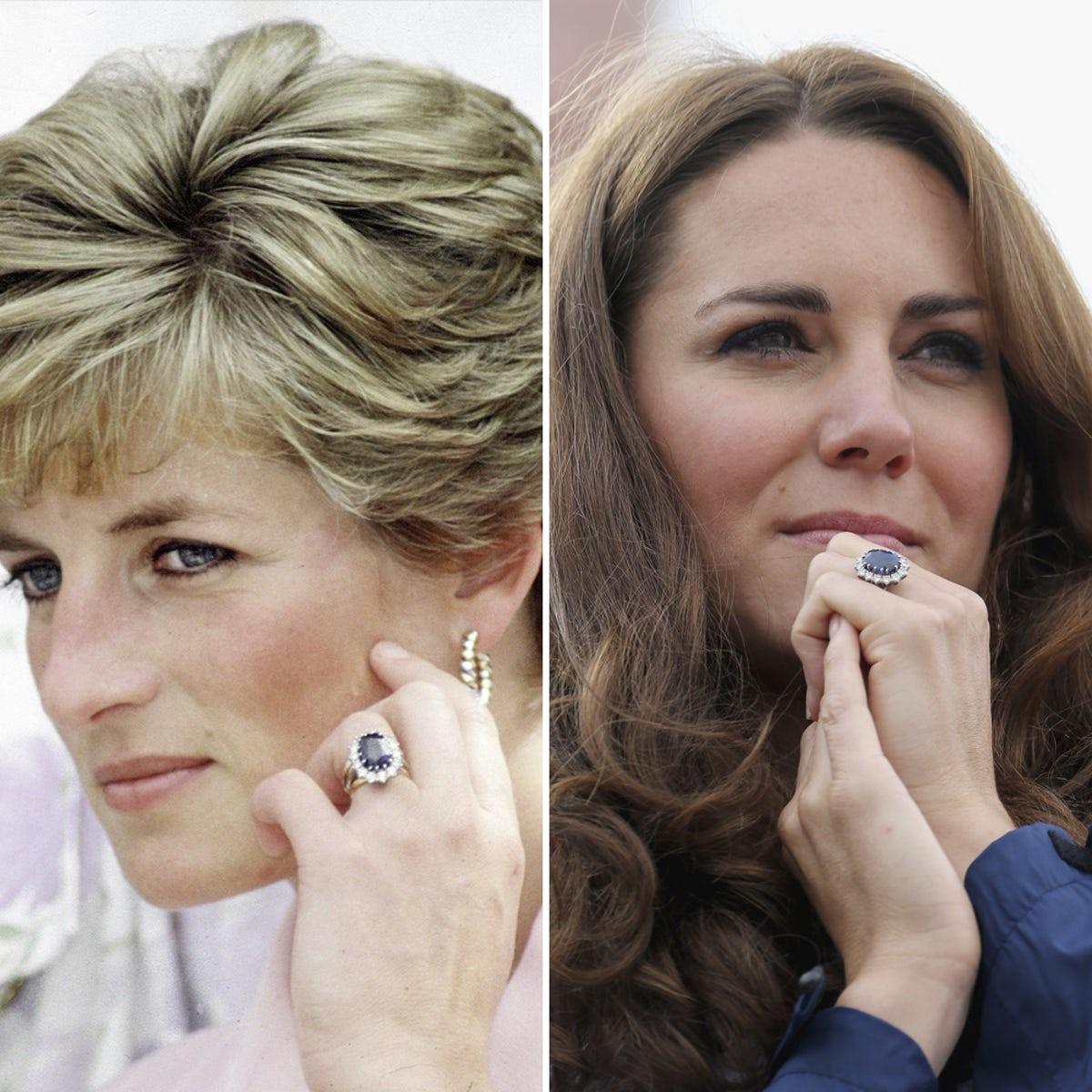 Anel de noivado de Kate Middleton