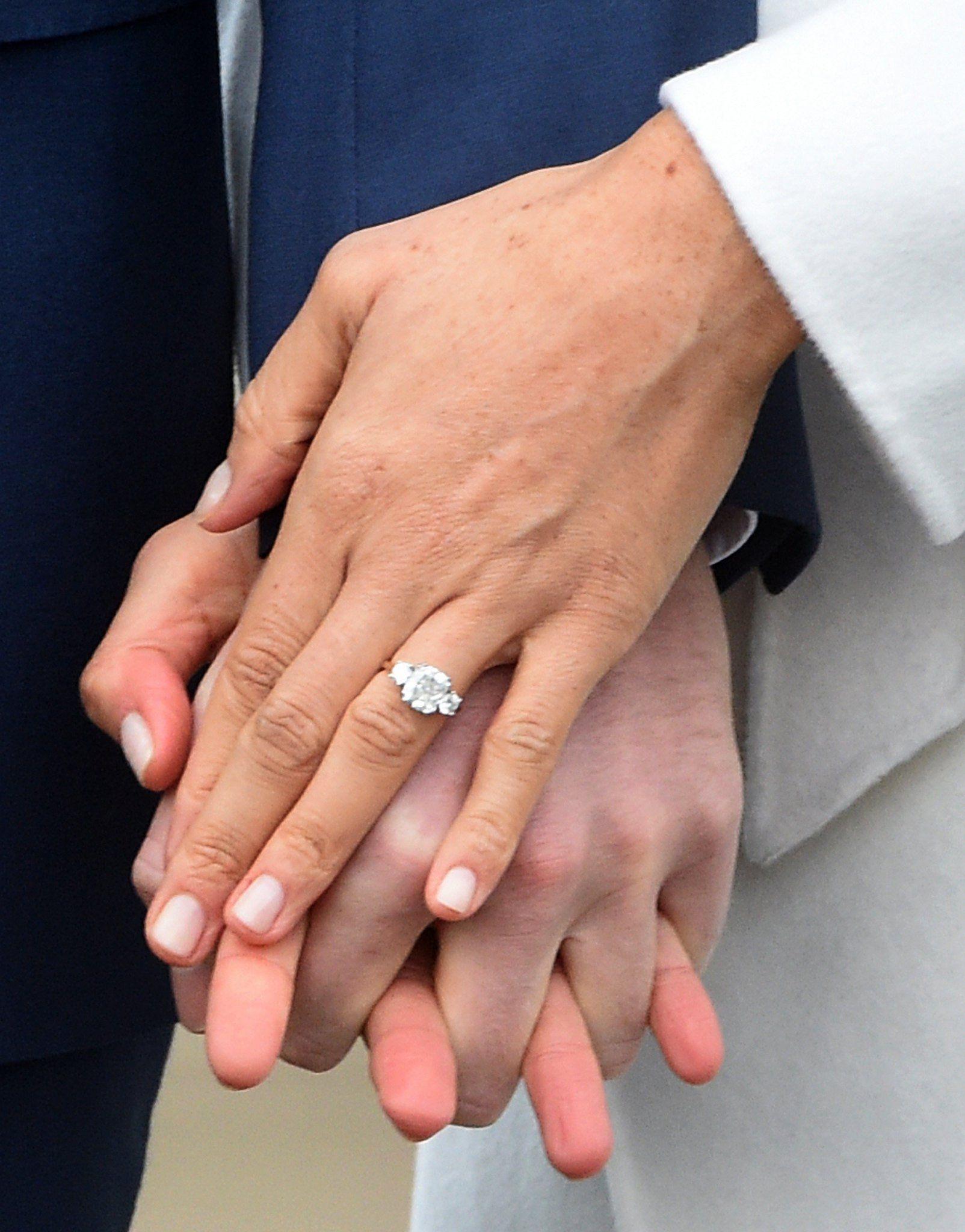 Anel de noivado de Meghan Markle