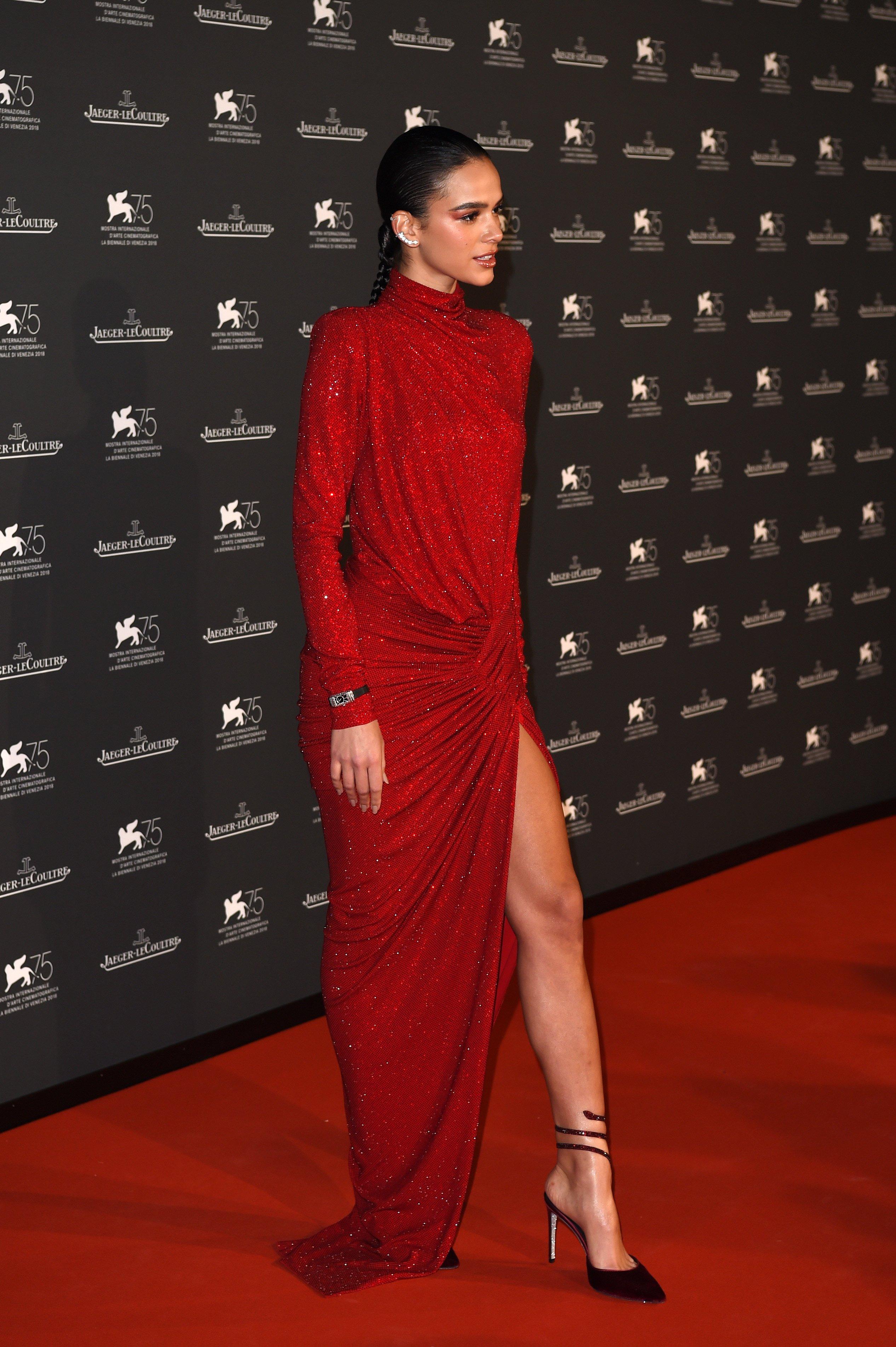 Bruna Marquezine Vestido Vermelho