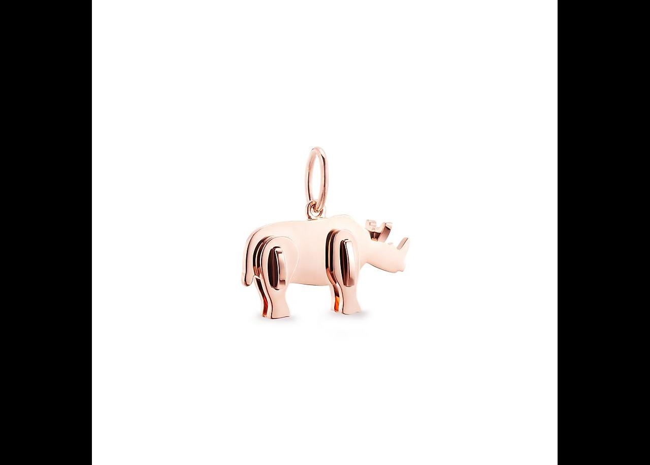 Coleção da Tiffany Co Rinoceronte Rose