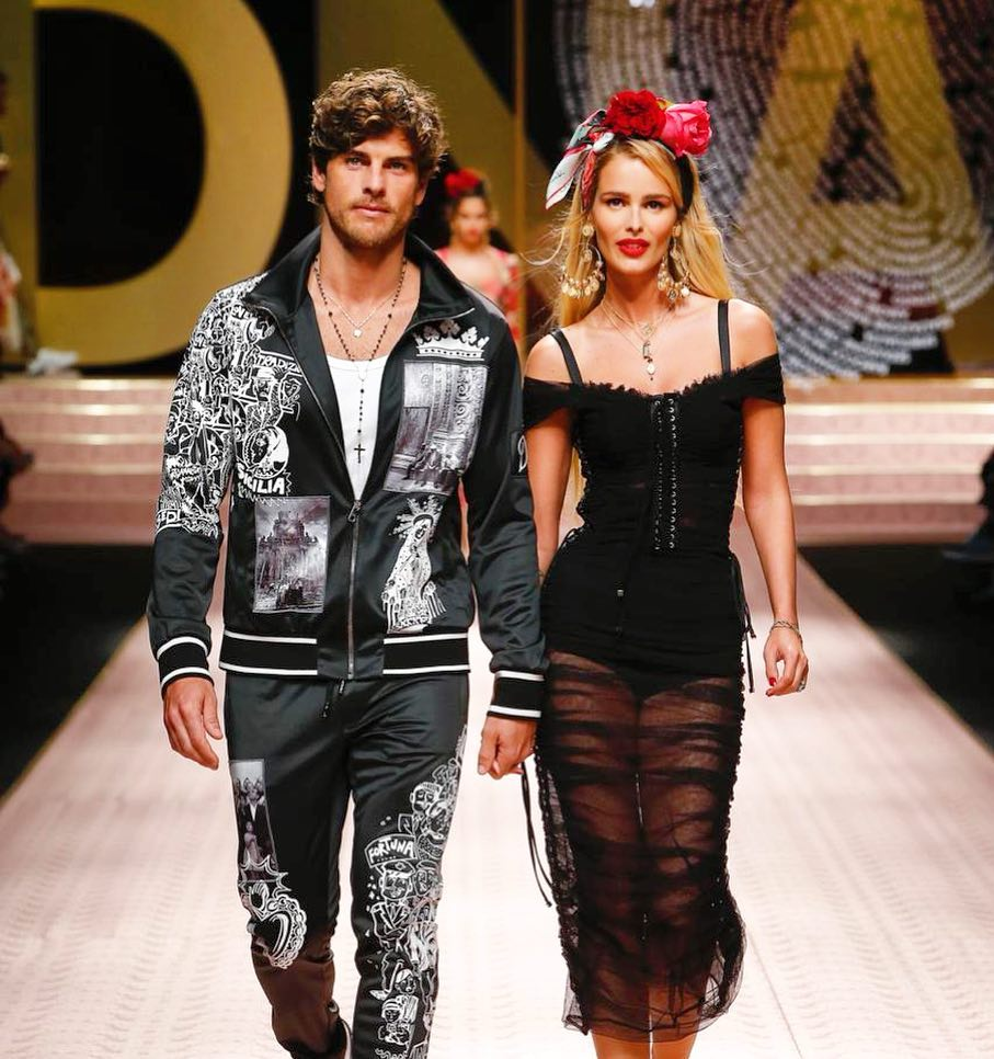 Desfile da Dolce & Gabbana Collection