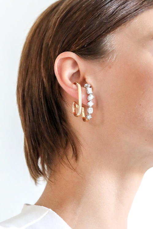 Modelos de brincos Ear Hook